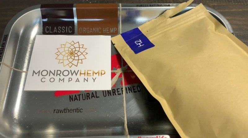 Monrow Farms H2 hemp Flower review.