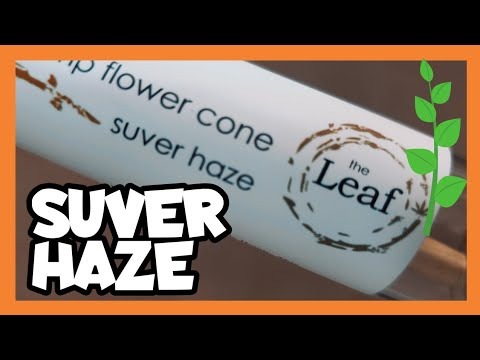The Leaf NY SUVER HAZE Raw Premium Hemp Flower Cone
