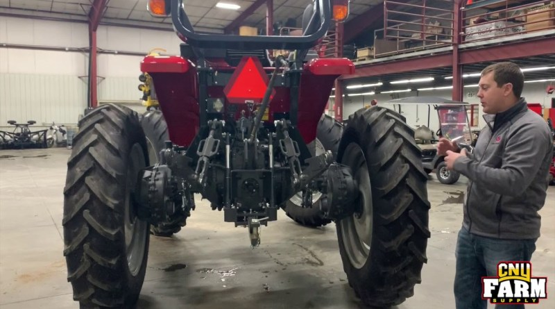 Tractor Fit for Hemp Farming