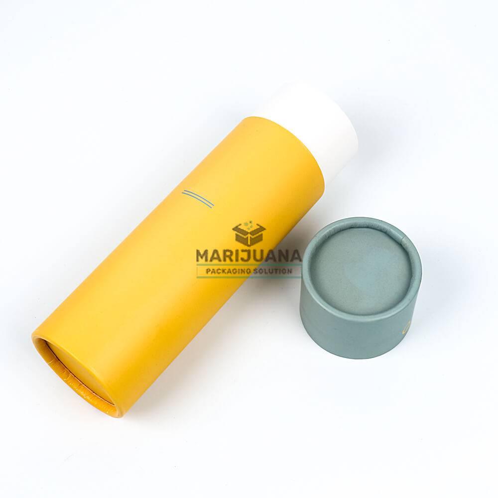 CBD Oil Dropper Bottles Custom Paper Tubes Packaging