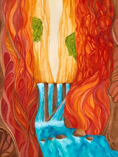 """A Healing Place 2"" (c) Marika Reinke"