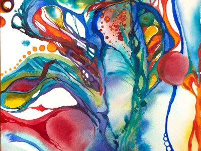 "Freedom: Watercolor by Marika Reinke 16"" x 12"""