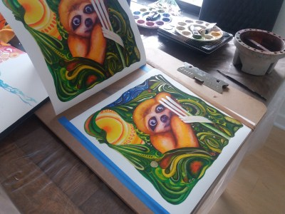 A Wise Little Sloth Prints