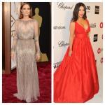 Looks inspirados en el maquillaje de la Gala de los Oscars 2014: Angelina Jolie y Kim Kardashian