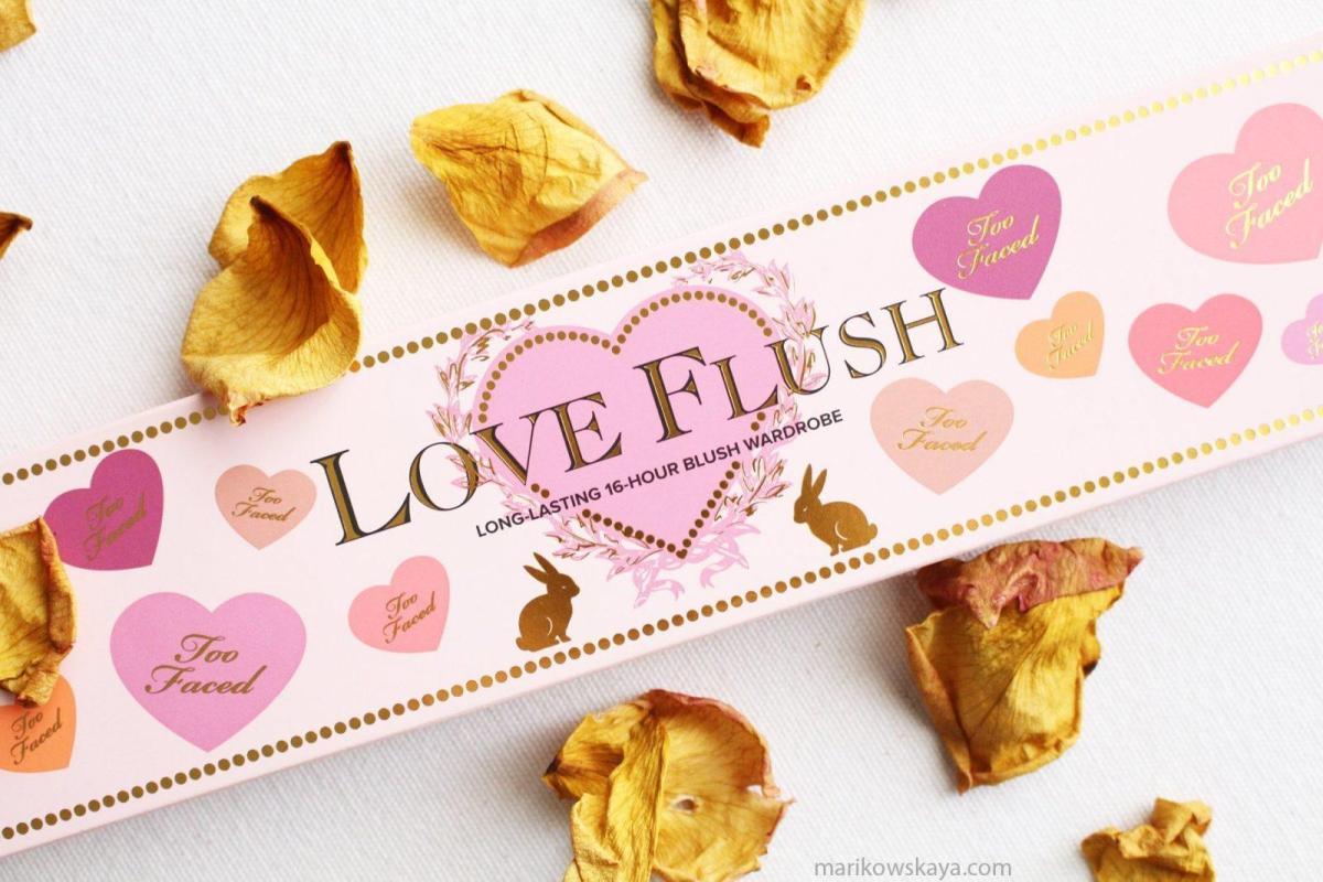últimas compras too faced love flush