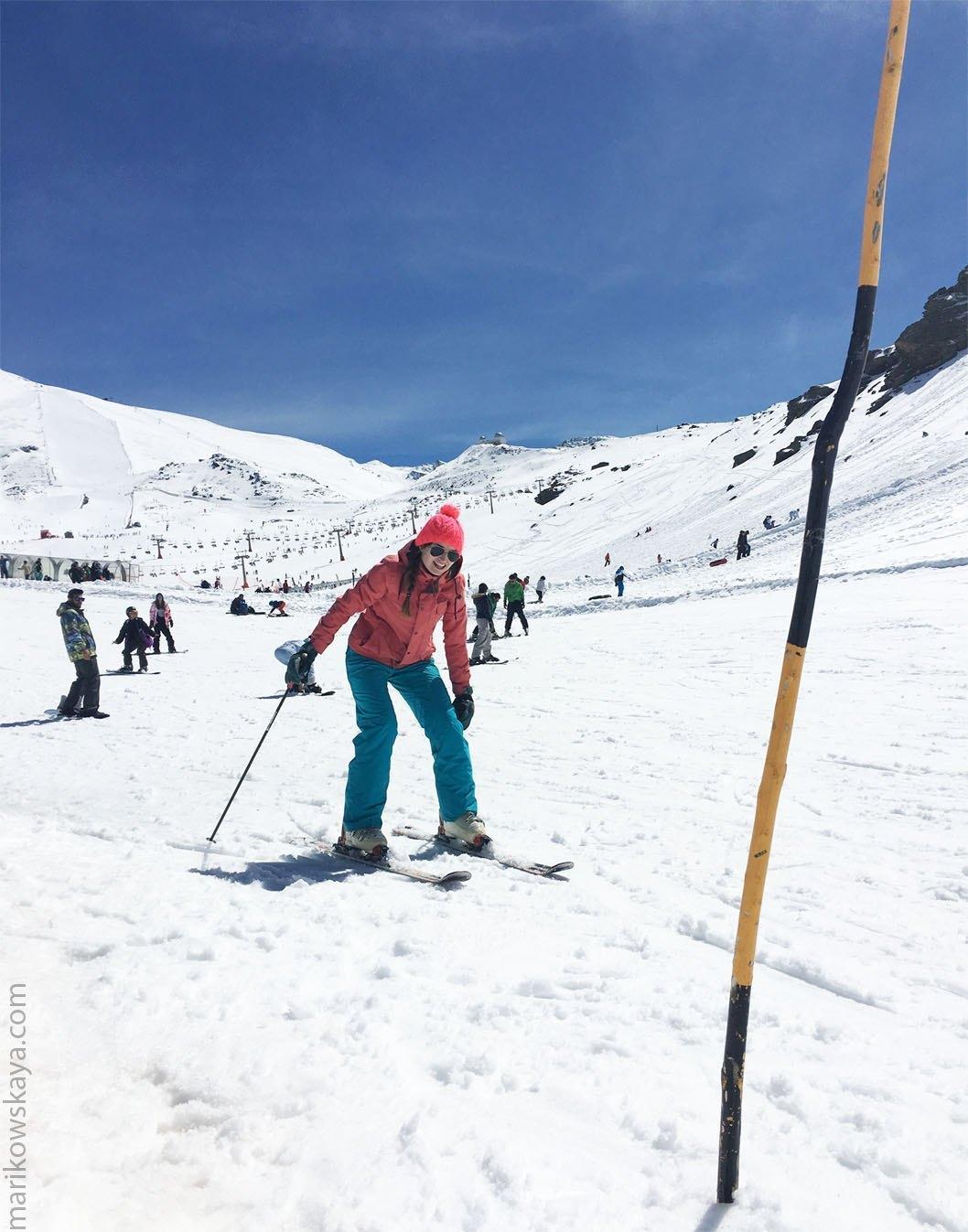 granada - sierra nevada - ski 2