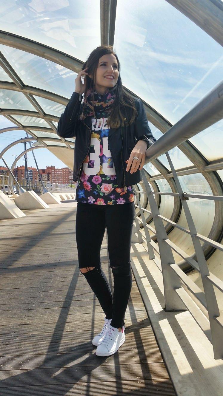 marikowskaya street style andrea stan smith adidas (4)