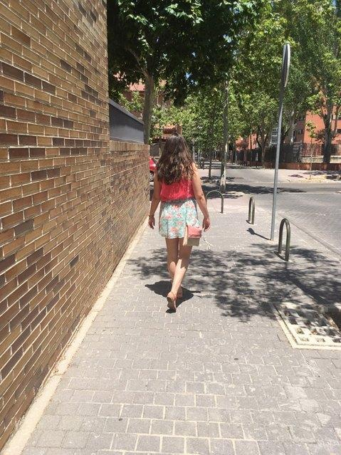marikowskaya street style inma falda flores (1)