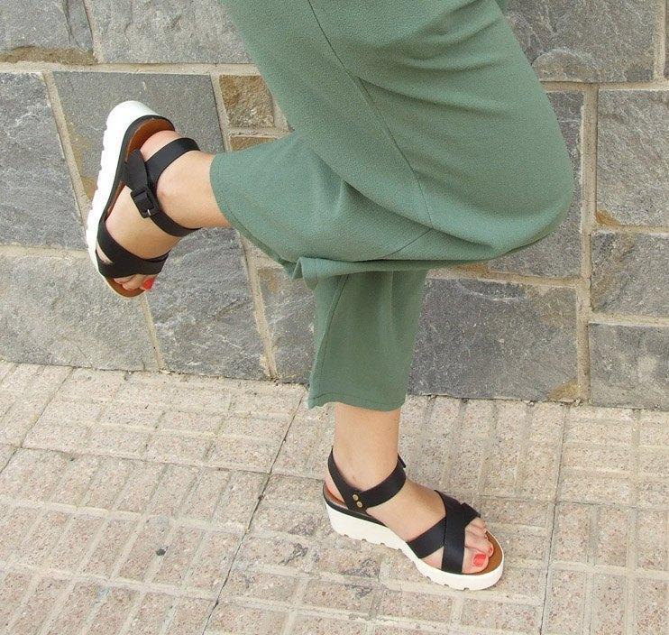 marikowskaya street style pantalón culotte kakhi (1)
