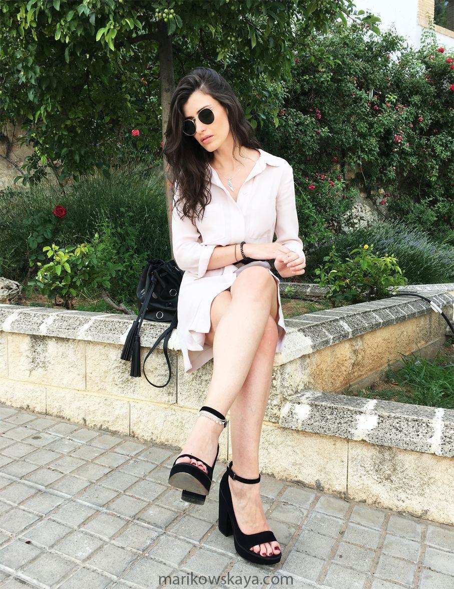 marikowskaya street style vestido camisero 10