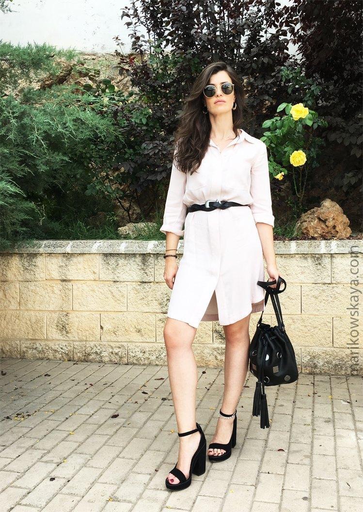 marikowskaya street style vestido camisero
