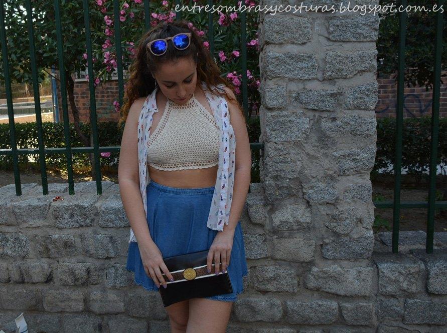marikowskaya street style andrea bueno top crochet (3)