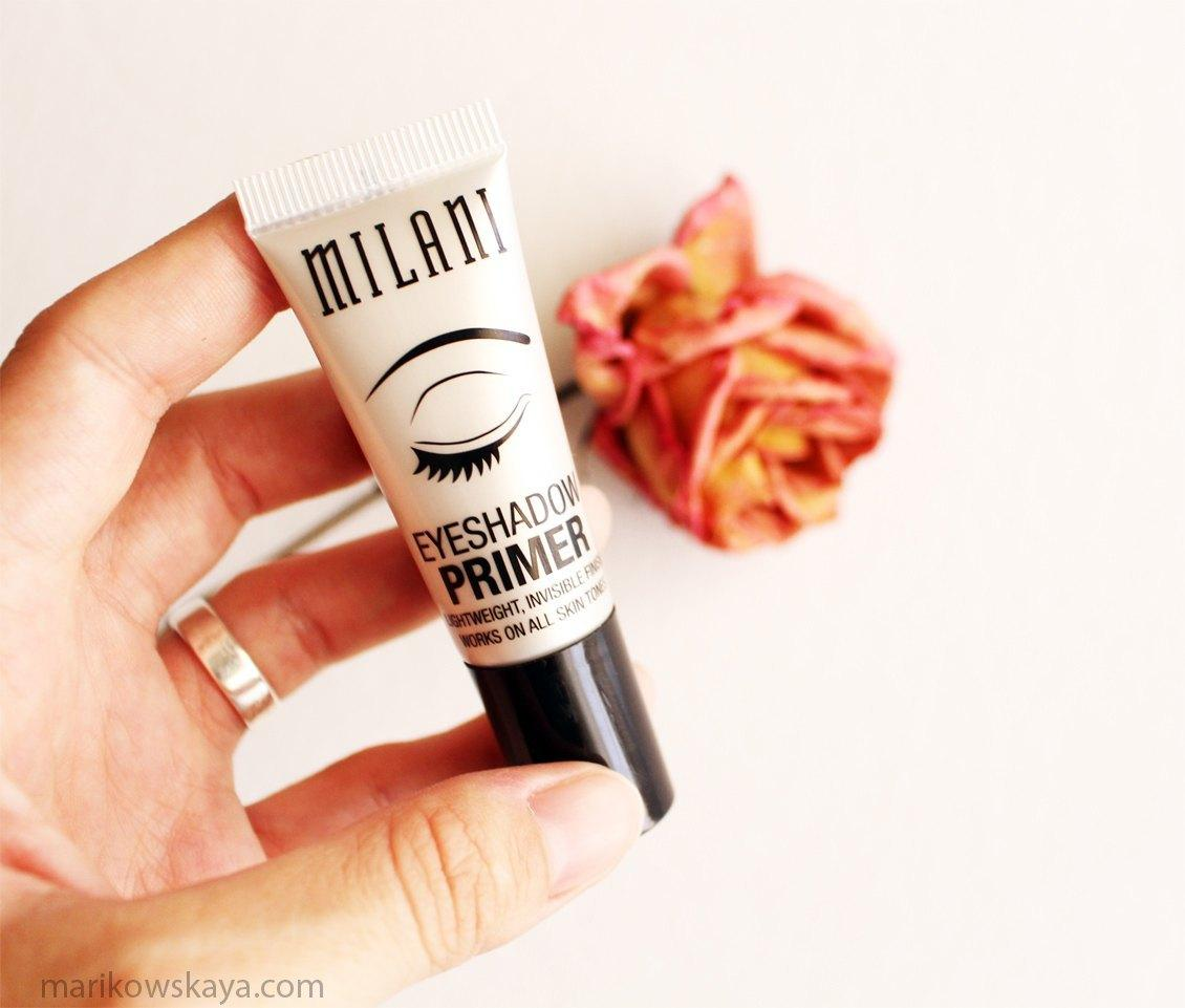 favoritos agosto - milani eyeshadow primer