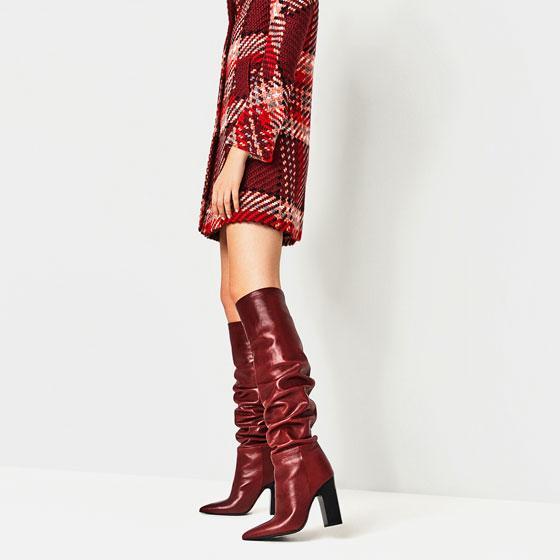 Bota XL Zara