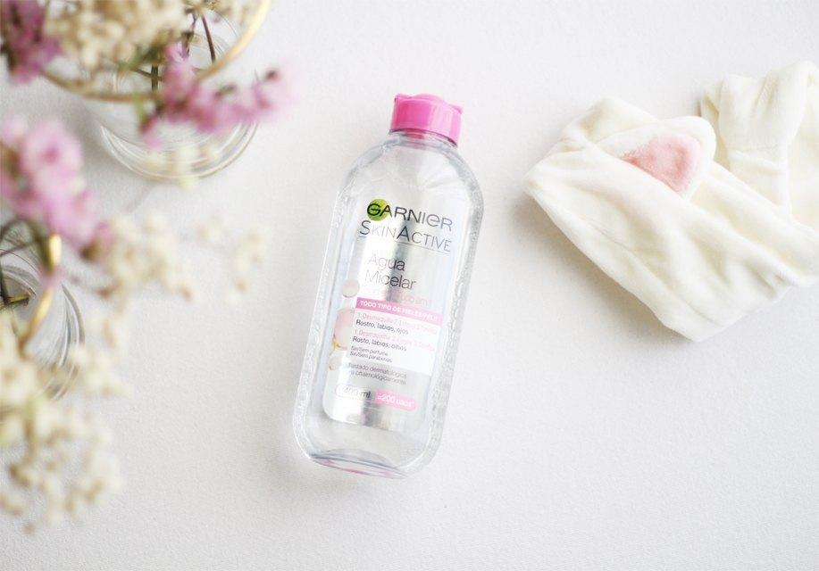 cuidado facial - agua micelar garnier