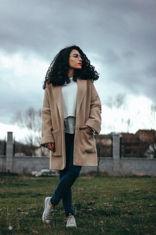 marikowskaya street style lu abrigo beige (2)
