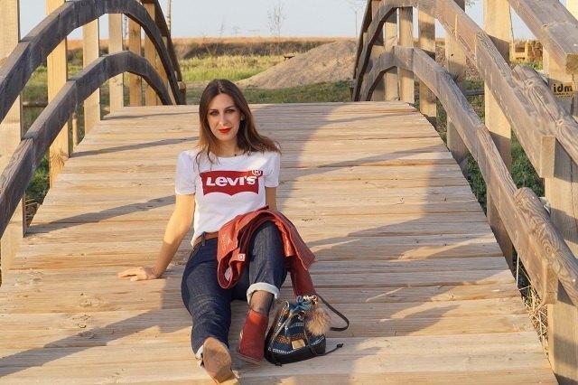 marikowskaya street style lorena camiseta levis (3)