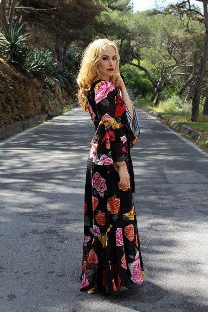 marikowskaya street style patripaan vestido flores (7)