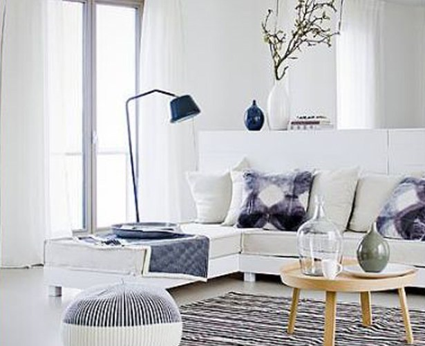 Scandinavian Blue and White