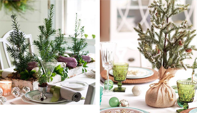 6 Christmas Dining Table Decorating Ideas