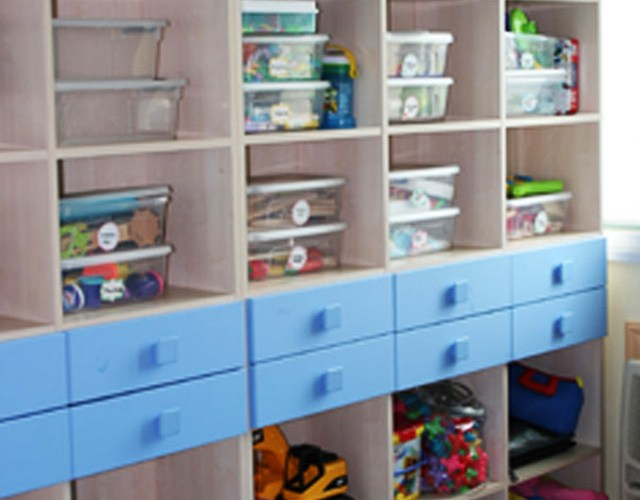 Organizing Childrens' Toys
