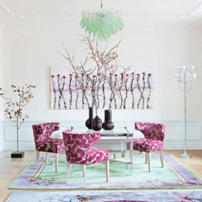 How To Decorate With The 2014 Color of the Year: Radiant Orchid