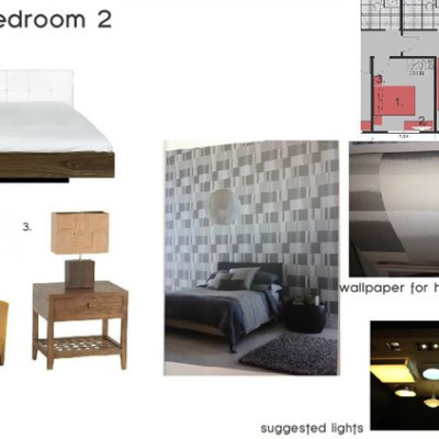 Online Interior Decorating Project
