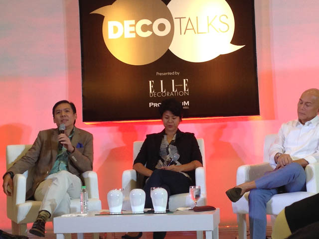 Deco Talks with Elle Decoration Philippines
