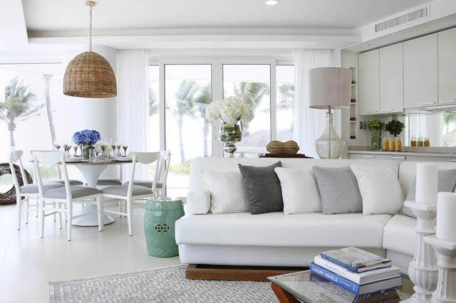 a monotone rug from Decoliving for Aqua in Boracay.