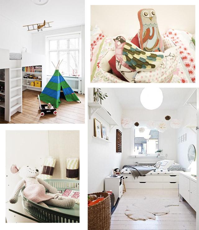 Photos Via: Scandinavian retreat and Apartment Therapy