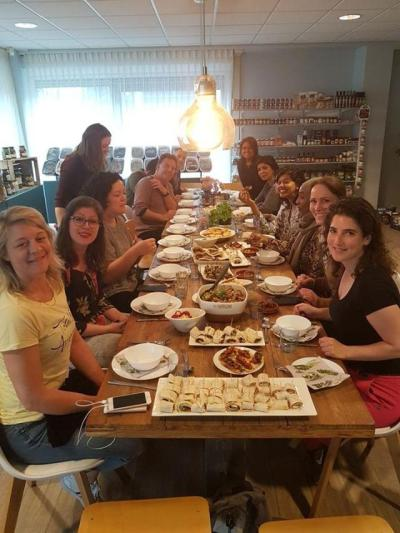 Foodbloggers bij Mediterraanse foodevenement van Enrico