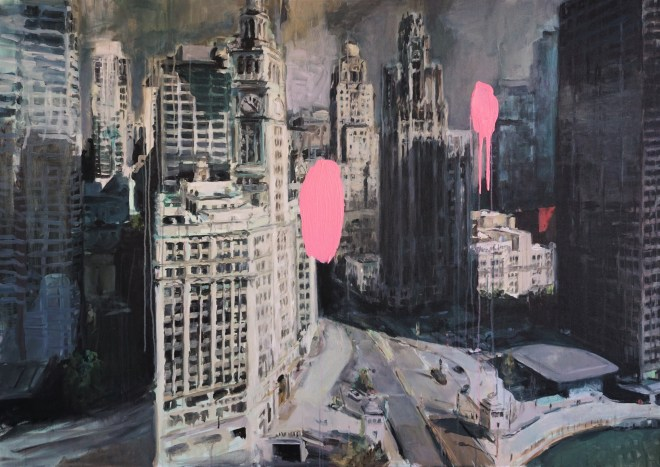 #paintingsofchicago #Citypaintings #fineart
