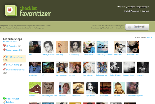 The-Favoritizer-Checklet