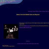 image of 1001 Nights Orchestra website