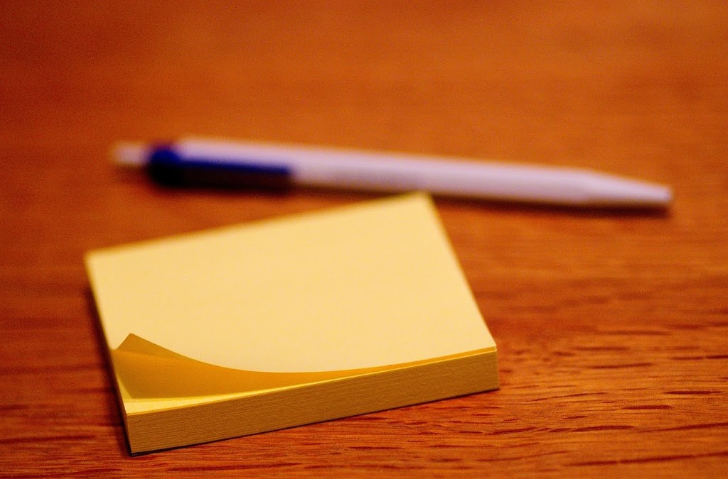 The Treasure of Gratitude: More Than a Post-it Note
