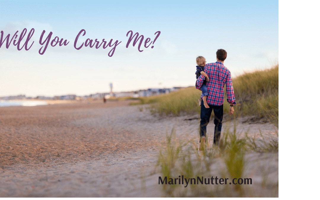 Will You Carry Me? Leaning on God's Promises