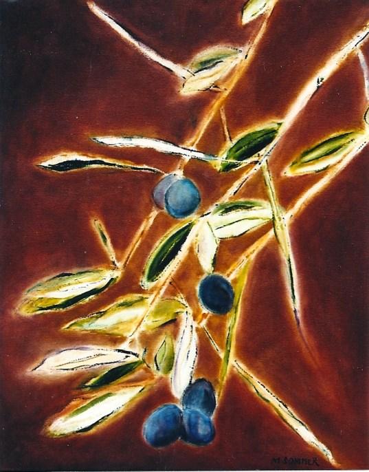 A Taste of Olives 16x20