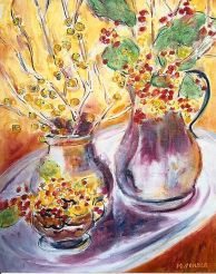 Branches of Berries 20x24