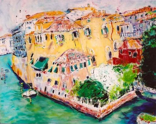 Canals of Venice 24x30