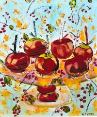 Candied Apples 20x24