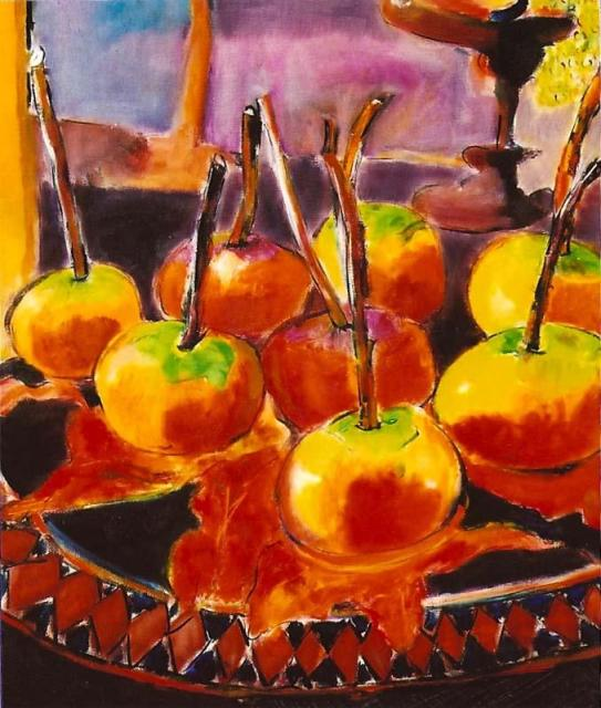 Caramel Apples 24x30