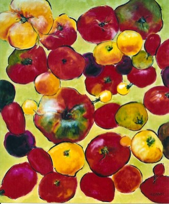 Heirloom Tomatoes 24x30