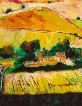 Hillside Vineyards 16x20