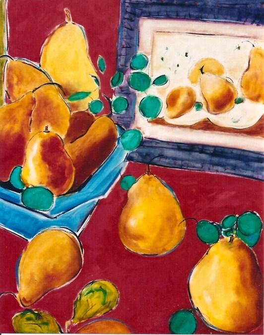 Multitude of Pears 24x30
