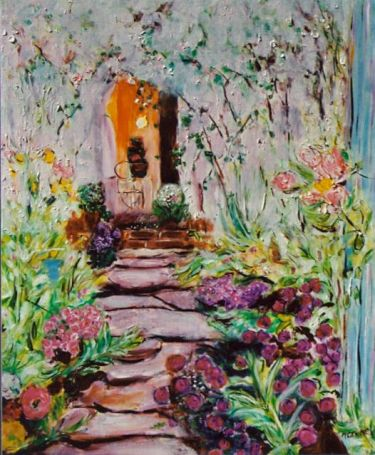 Path to the Bungalow, 20x24