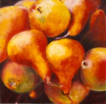 Sienna Pears 24x24
