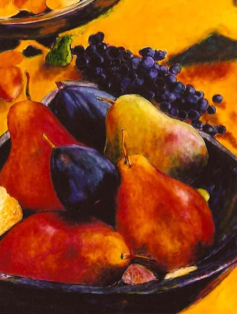 Still Life with Fruit 30x40