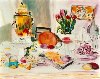 Still Life with Samovar 24x30