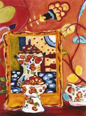 Still Life with Tureen Still Life with Tureen 30x40