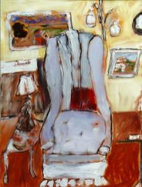 The Grey Chair 18x24